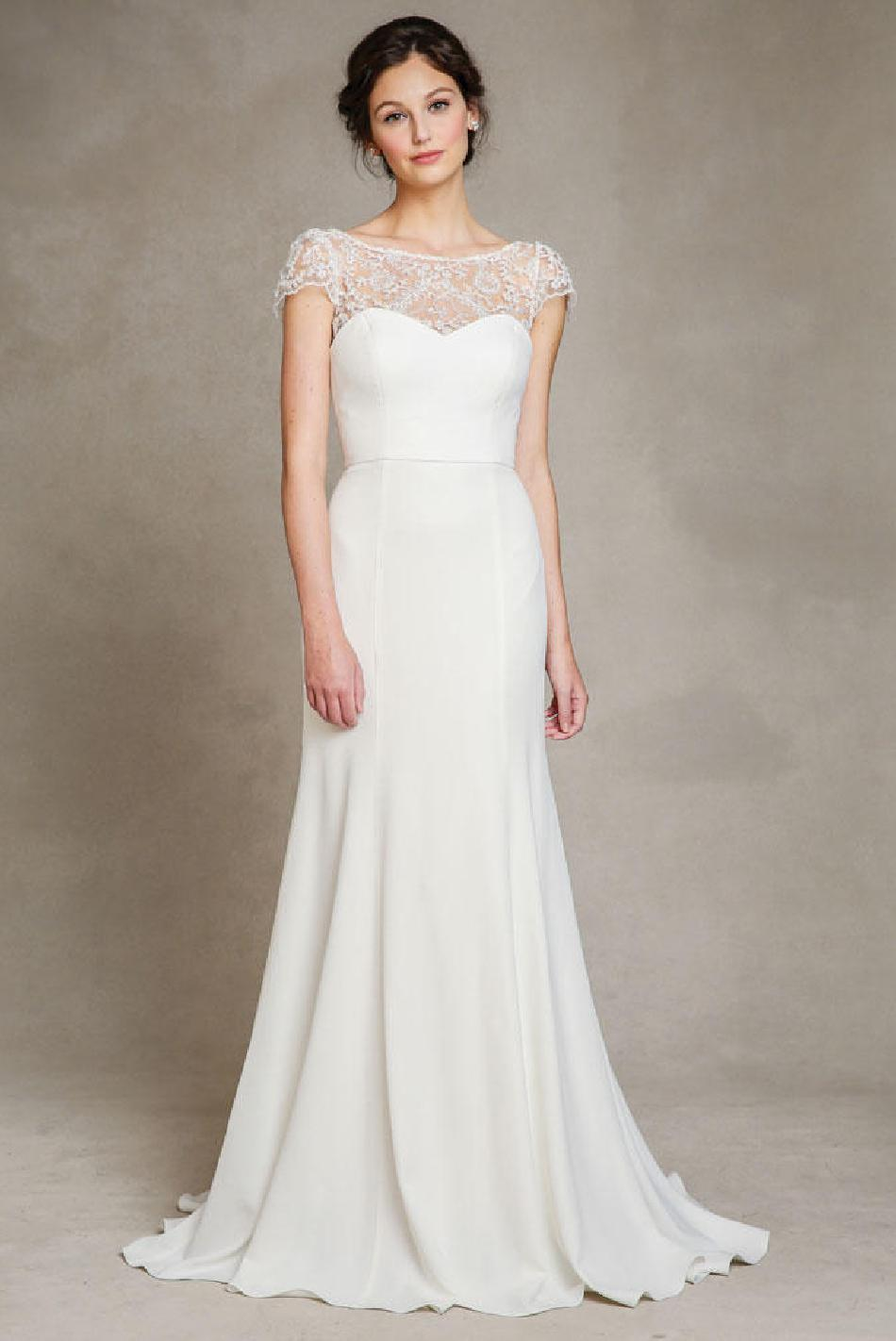 46c73a1c333 Your wedding plan will include a number of unexpected splurges but donot let  your wedding dress be one of them
